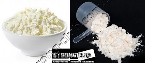 Протеин или творог
